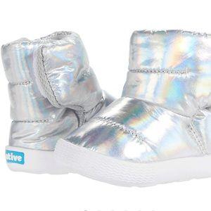 Native Chamonix Hologram Boots US Infant Sz 4